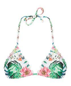 AMIR SLAMA | Printed Triangle Bikini Top