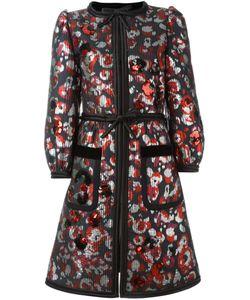 Marc Jacobs | Пальто С Пайетками Warped Flower