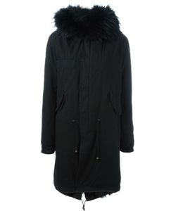 MR & MRS Italy | Fox And Raccoon Fur Lined Parka