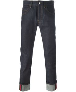 Gucci | Tapered Jeans With Web