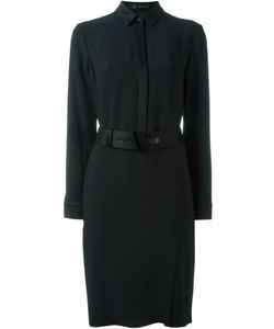 Versace | Платье-Рубашка С Поясом