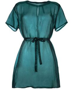 Minimarket   Полупрозрачное Платье-Рубашка