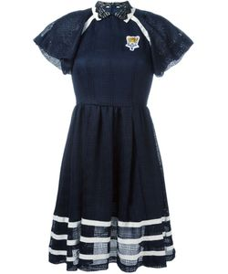 TAMAKI FUJIE | Lace Collar Polo Dress