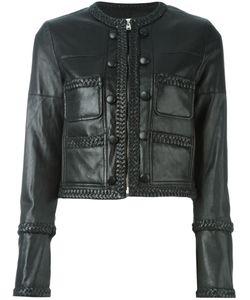 Givenchy | Укороченная Куртка С Косичками На Подоле