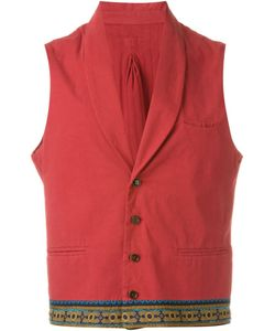 OUTSOURCE IMAGES | Contrast Hem Waistcoat