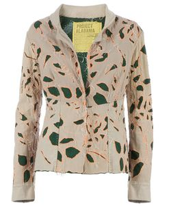 PROJET ALABAMA | Leaf Patterned Jacket
