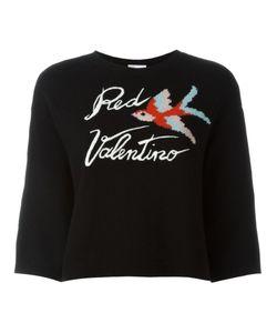 Red Valentino | Джемпер Вязки Интарсия С Птицей