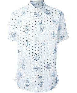 Alexander McQueen | Рубашка С Принтом В Стиле Татуажа