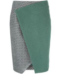 LINDA FARROW GALLERY | Panelled Wrap Skirt