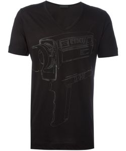 Diesel Black Gold | Camera Print T-Shirt