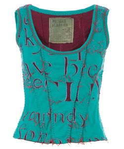 PROJET ALABAMA | Letter Printed Tank Top