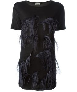Nina Ricci | Feather-Embellished Top