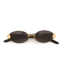 GIANFRANCO FERRE VINTAGE | Oval Frame Sunglasses