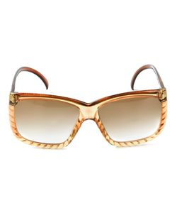 Christian Dior Vintage | Солнцезащитные Очки В Квадратной Оправе