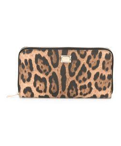 Dolce & Gabbana | Dauphine Leopard Print Wallet