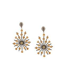 Carole Shashona   Sun Sparkler Diamond Earrings