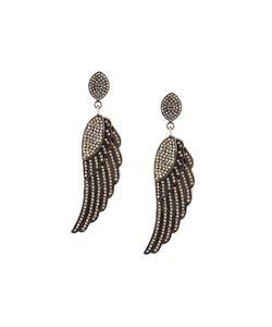 Carole Shashona   The Soul Wing Diamond Earrings