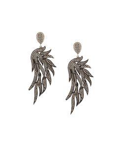 Carole Shashona   Fire Wing Diamond Earrings
