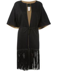 Agnona | Fringed Short Sleeve Coat