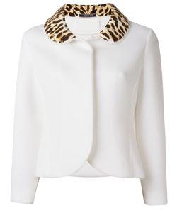 Maison Margiela | Leopard Print Collar Jacket