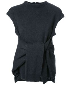 FAD THREE | Tied Front Knitted Blouse