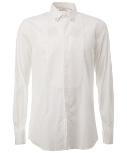 Neil Barrett | Рубашка С Пирсингом На Воротнике