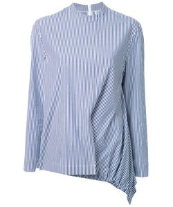 FADTHREE | Striped Gathered Detail Blouse