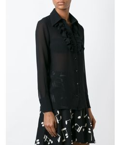 Saint Laurent | Ruffle Placket Shirt