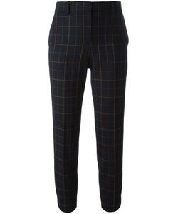 Theory | Cropped Checked Trousers