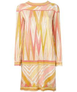 Emilio Pucci | Платье-Шифт С Узором