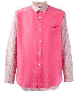 Comme Des Garcons | Рубашка С Панелями В Клетку