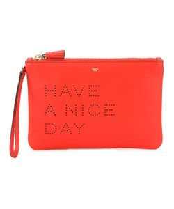Anya Hindmarch | Клатч Have A Nice Day