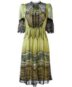 Etro | Платье С Панельным Дизайном