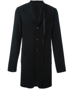 Ann Demeulemeester | Grise Strap Detail Coat