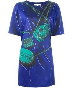 Moschino | Платье С Принтом В Стиле Тромплей