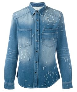 Givenchy | Destroyed Denim Shirt