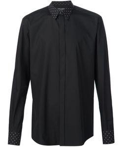 Dolce & Gabbana | Рубашка С Воротником И Манжетами В Горох