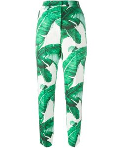 Dolce & Gabbana | Banana Leaf Brocade Trousers