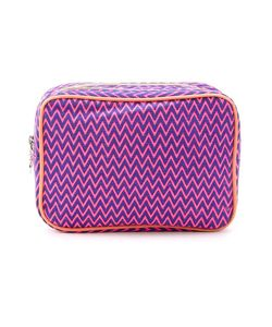Sub | Zig Zag Pattern Make-Up Bag