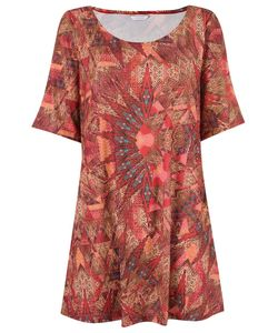 Lygia & Nanny | Round Neck Printed Dress