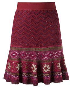 CECILIA PRADO | Tricot Flared Skirt