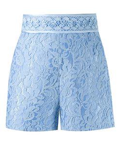 MARTHA MEDEIROS | High-Waisted Lace Shorts