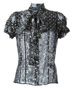 Haider Ackermann | Sheer Printed Blouse