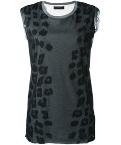 Diesel | Animal Print Tank Top
