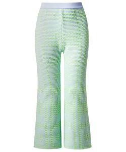 Gig | Cropped Knit Wide Leg Trousers
