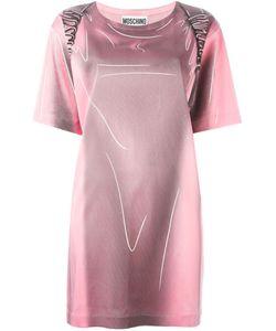 Moschino | Платье С Принтом Рюкзака И Эффектом Тромплей