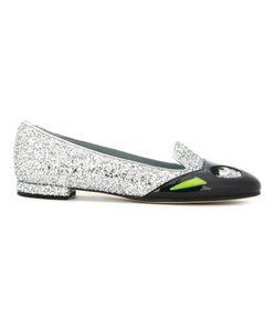 Chiara Ferragni | Superhero Glitter Slippers