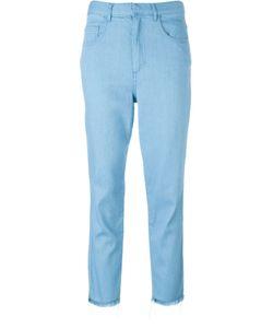 Marques Almeida | Marquesalmeida Frayed Hem Cropped Jeans