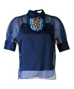Delpozo | Декорированная Блузка