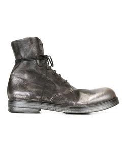 Marsell | Ботинки На Шнуровке С Эффектом Металлик